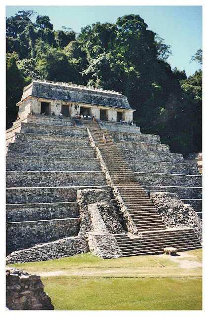 Mexiko Palenque Mayas
