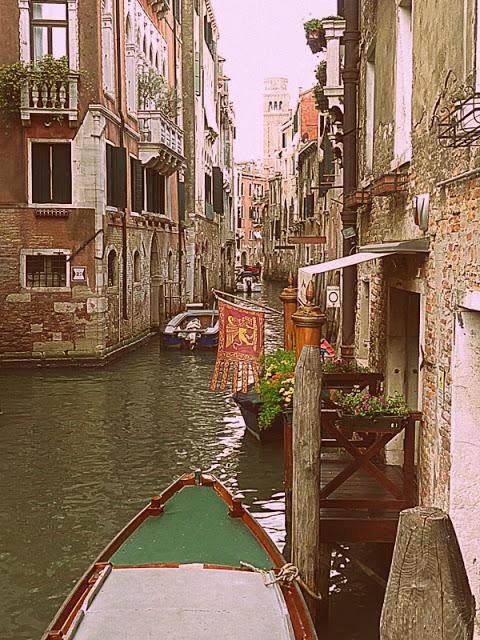 Gondeln Venedig Kanäle