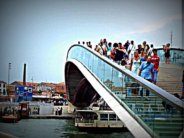 Venedig Ponte-della-costituzione bruecke