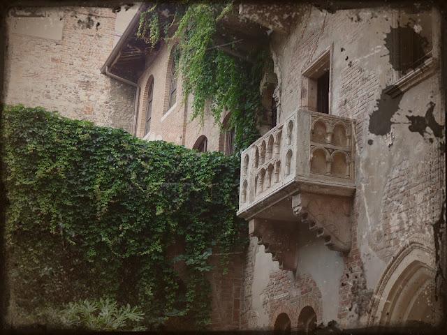 Julia Haus Balkon in Verona