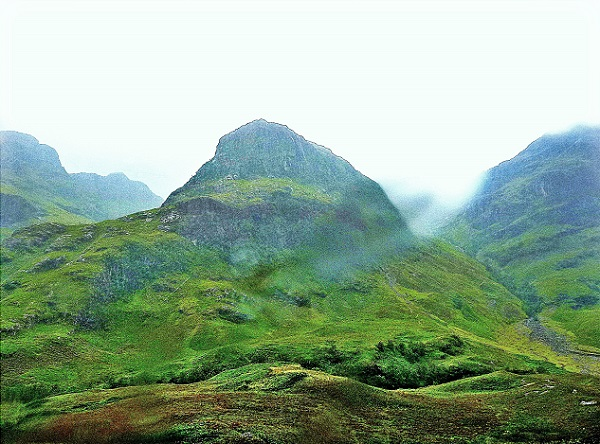Highlands Schottland Glen Cloe Three Sisters