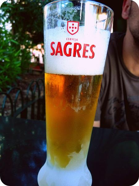 Bier Sagres Portugal