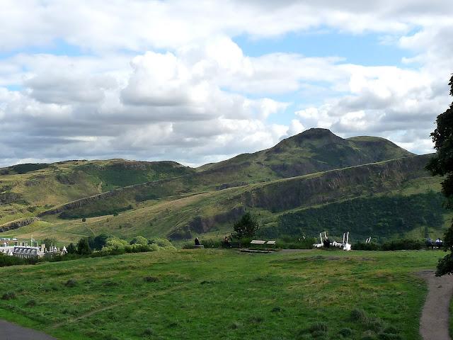 Edinburgh Schottland / Arthur's Seat
