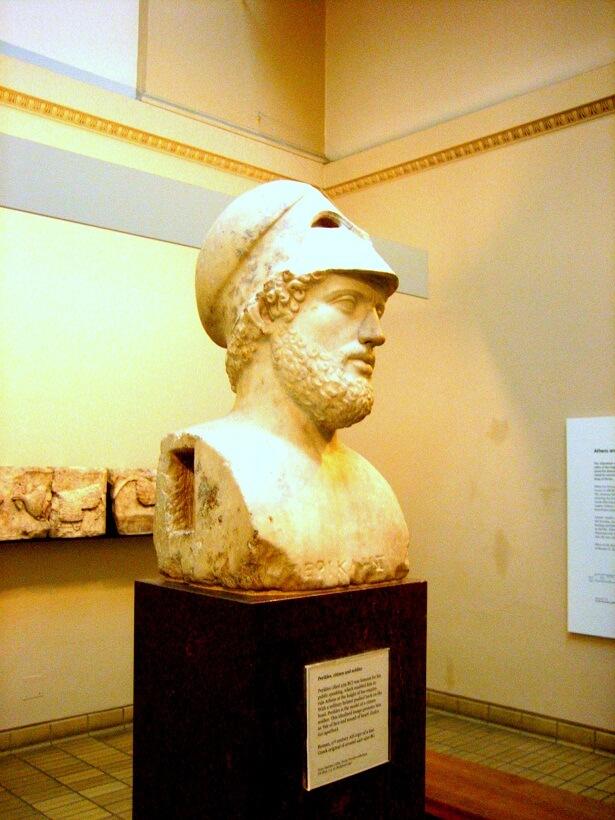 London British Museum Perikles