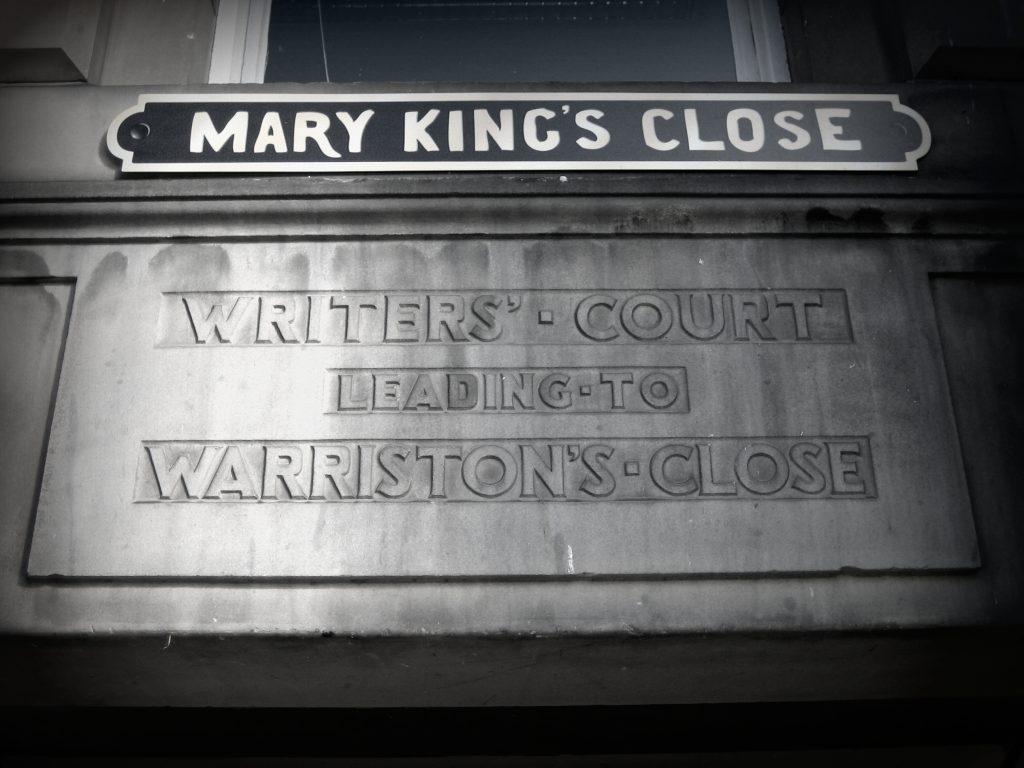 edinburgh mary kings close
