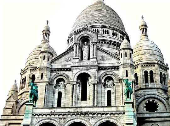 Sacre Coeur - die Zuckerbäckerkirche 2