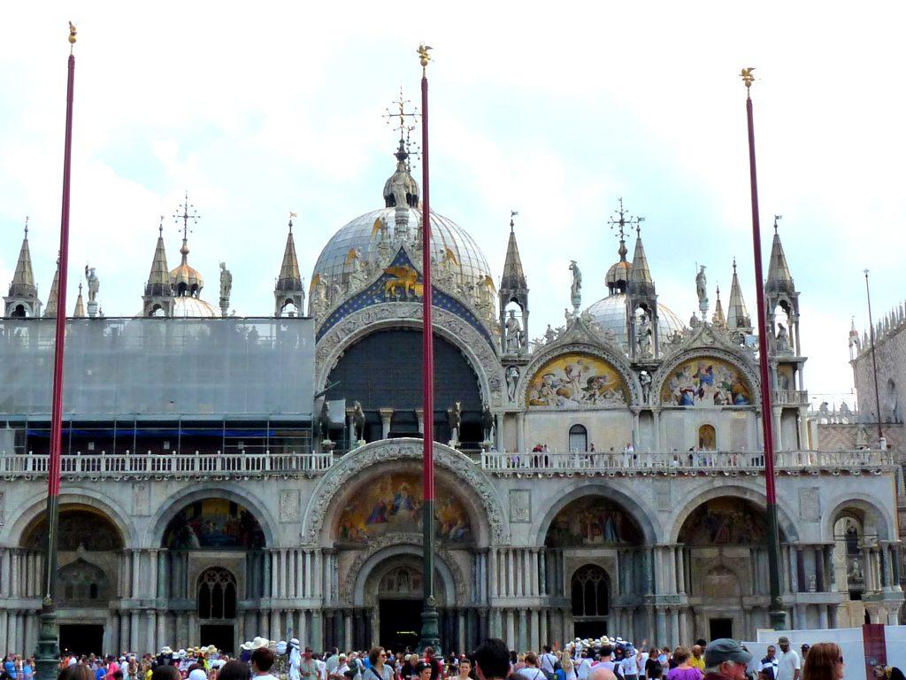 Venedig Markusdom Campanile Piazza San Marco