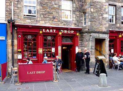 edinburgh  pub last drop