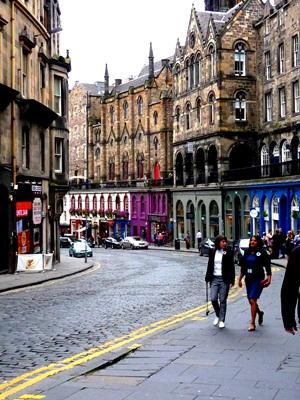 Edinburgh Victoria Street to Grassmarket