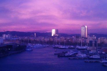 Boat Watching - im Hafen von Barcelona 4