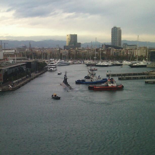 Barcelona Hafen U-Boot
