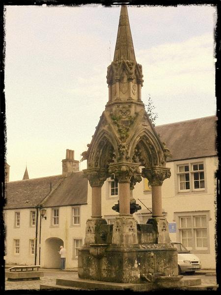 Highlands Dunkeld Brunnen Atholl Memorial Fountain