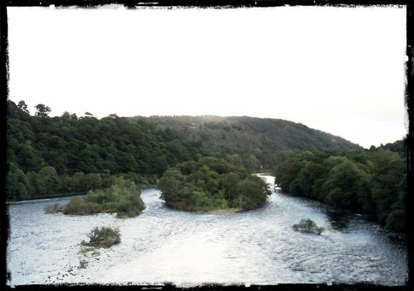 Highlands River Tay Schottland