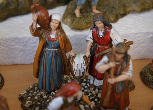 Weihnachtsmarkt Spanien Fira de Nadal : Krippe