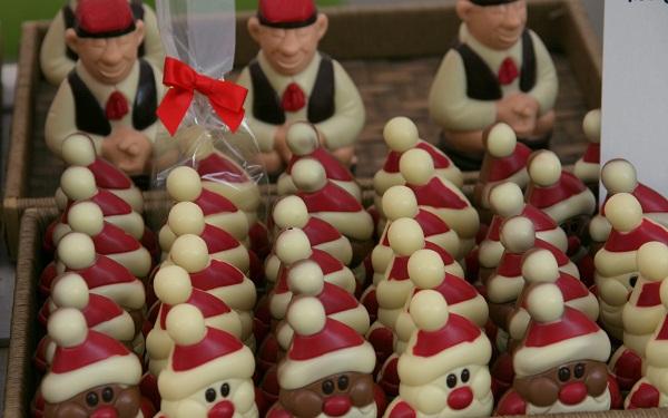 Weihnachtsmarkt Spanien Schokolade