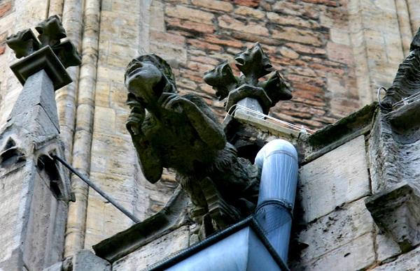 Braunschweig Dom Wasserspeier