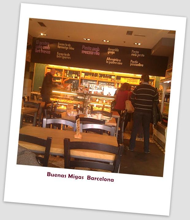 Restaurant Tipp günstig: Buenas Migas Barcelona