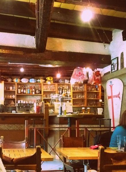 Carcassonne Frankreich Cité Altstadt Bar