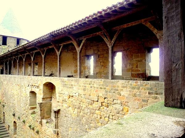 Carcassonne Frankreich Cité Altstadt