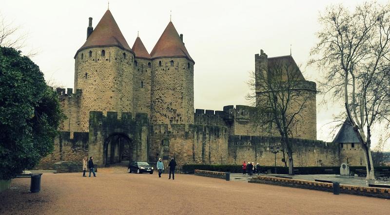 Carcassonne Frankreich Cité