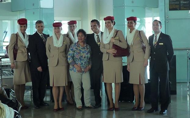 A-380 Emirates Barcelona-Dubai