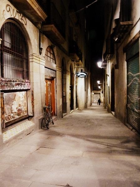 Barcelona Barrio Gotico Baixada santa eulalia