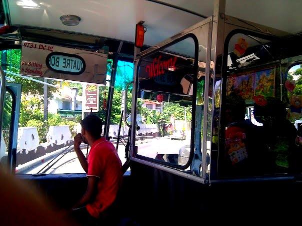 Mauritius Bus fahren