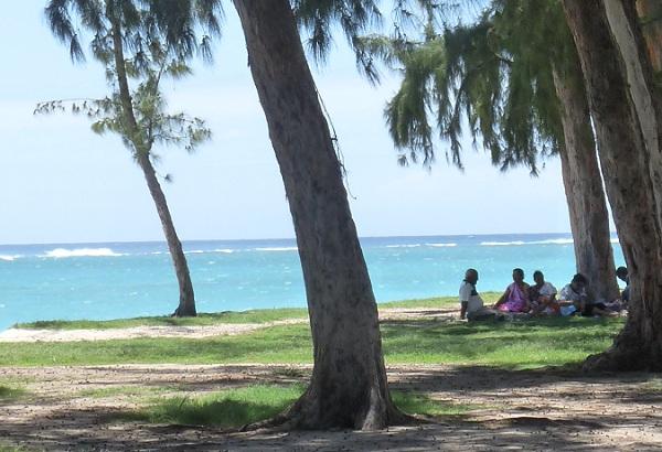Mauritius Strand Picknick