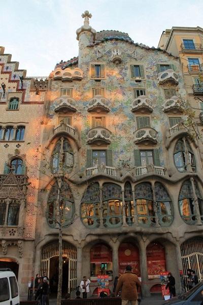 Modernismo Barcelona Casa Batllo