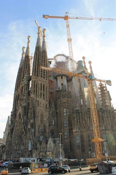 Modernisme Barcelona Sagrada Familia