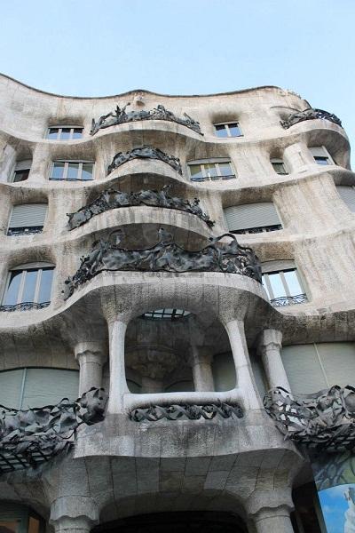 Modernismo Barcelona Casa Mila