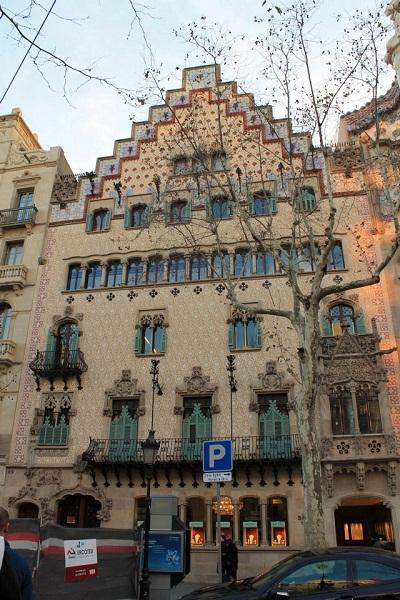 Modernisme Barcelona Casa Ametller