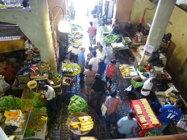 Mauritius Port Louis Markt