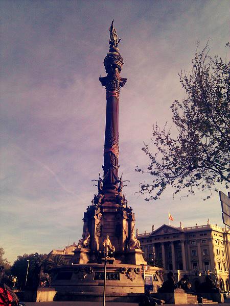 Columbus Säule Barcelona