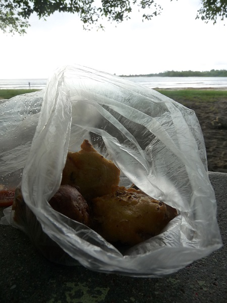 teigtaschen samoussas frittiert mauritius