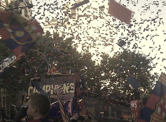 Fussball Barcelona Barça