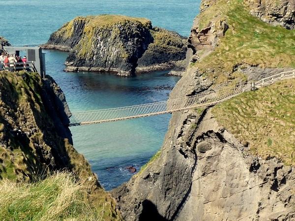 Carrick-a-Rede Bridge Antrim Nordirland