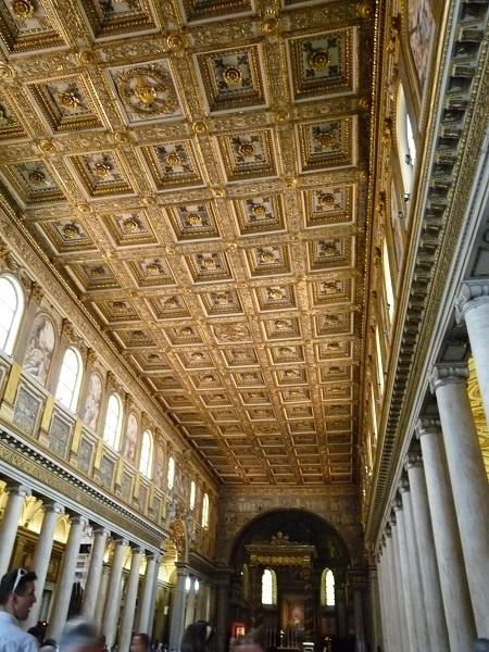 Kassettendecke Santa Maria Maggiore