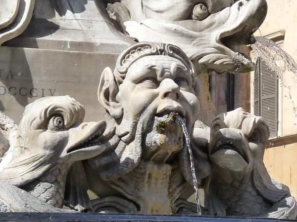 Rom Brunnen Pantheon