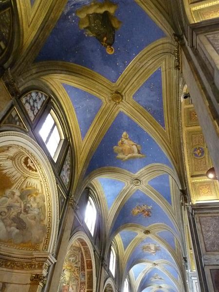 Rom sant-antonio Deckengemälde