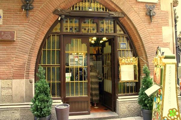 Restaurant Gats Barcelona : Els quatre gats barcelona