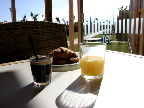 Frühstück Ballena alegre Costa Brava