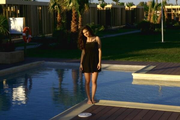 am Pool Camping La ballena alegre costa brava