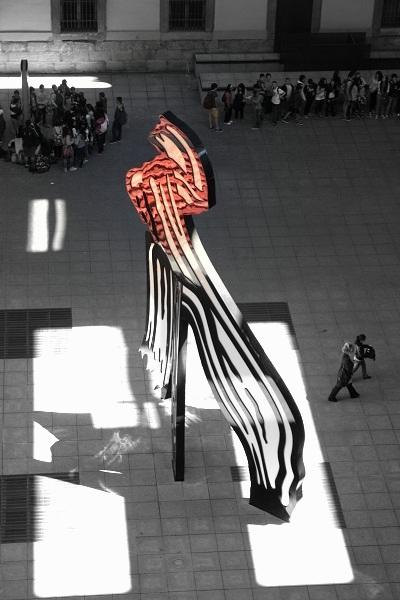 Madrid Reina Sofia Museo roy liechtenstein brushstroke
