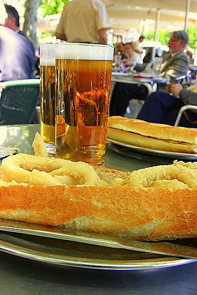Madrid Bocadillo Calamares