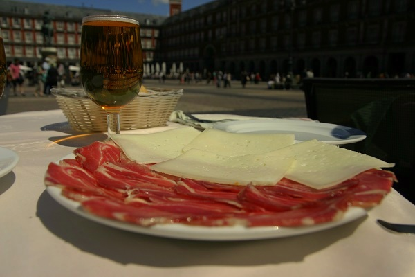 Madrid Plaza Mayor museu-jamon