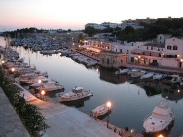 Menorca Ciutadella Hafen