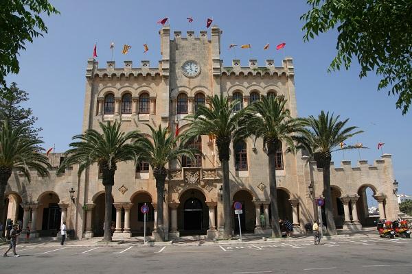 Menorca Ciutadella Rathaus