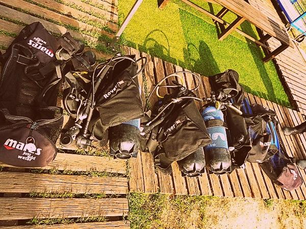 Tauchen Scuba Diving   ausrüstung