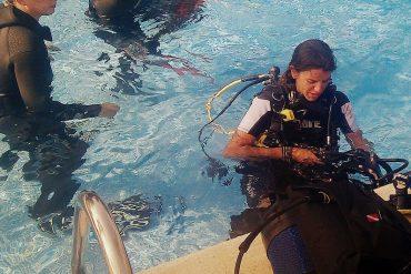 Hurra, ich werde ein Scuba Diver 6